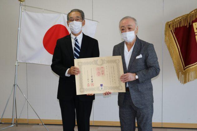札幌医科大学附属病院への寄附に対する紺綬褒章授受について